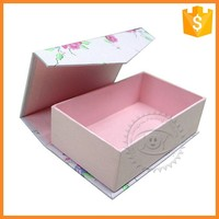 Professional Custom Cardboard Magnetic Gift Box with Flat Closure