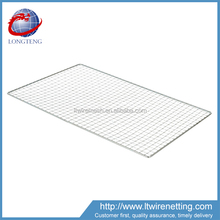 Professional manufacturer supply square crimped bbq grill netting,esbit portable folding charcoal bbq grill