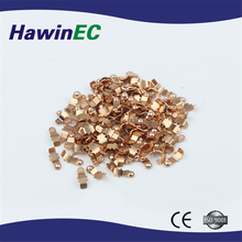 Economic Efficient threaded brass electrical contacts