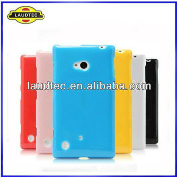Laudtec Hot Selling New Products Pudding TPU Gel case for Nokia Lumia 720 Soft Gel Case Cover