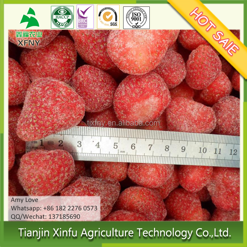Sale by bulk price for frozen strawberry