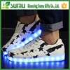 china factory directly supply women men strip flashing Adult Light Up Led Shoes
