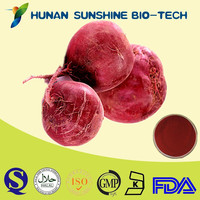 CAS 7659-95-2 Natural Plant Extract Red Beet Juice Extract