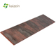 PVC ceiling retro copper metallic panels cheap bathroom wall cladding