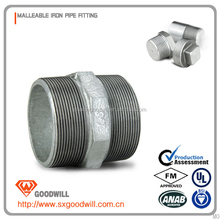 malleable iron pipe fittings high quality 2 inch long nipples