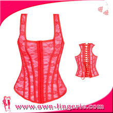 Fashion New Arrival Lace up XXXL Sexy Leather Corset Steampunk Corset