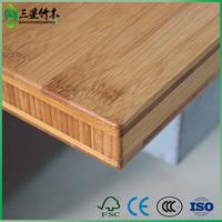 cheap prefab laminate shiny bamboo countertop for furniture