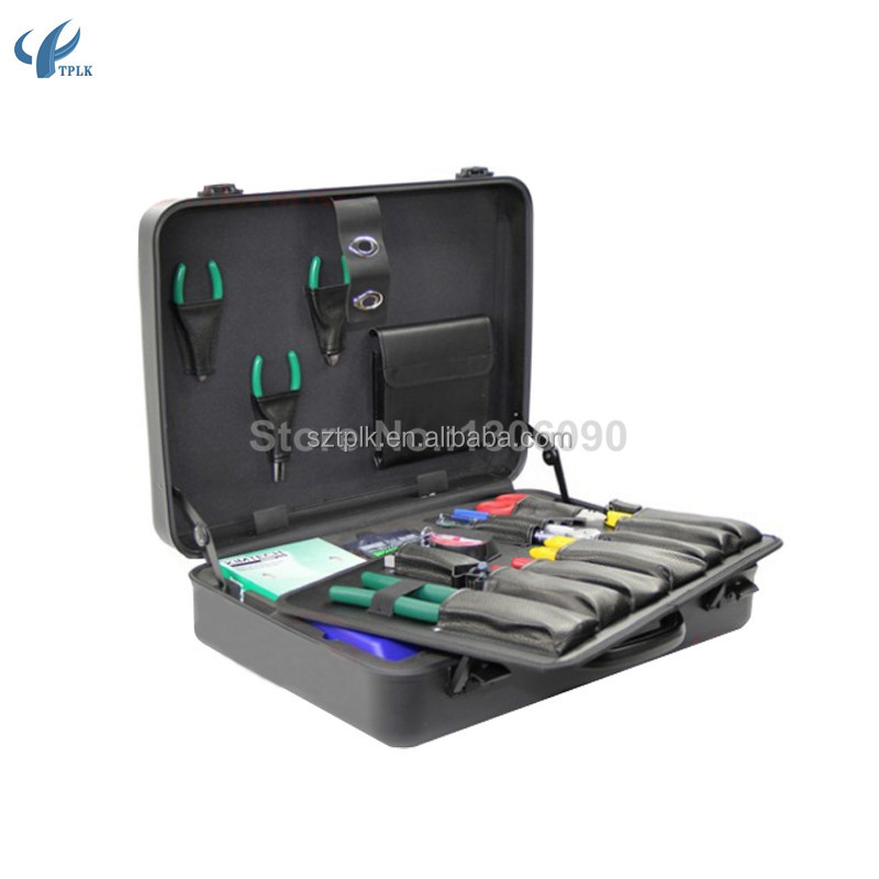 KFS-35N Fiber optic cable construction toolbox FTTH Splice Kit Construction FTTH fiber optic tool kit