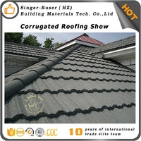 San-gobuild(SGB) High quality Stone Roof Tile/Stone Coated Metal Roof/Roofing Tile With Aluminum Zinc Steel Plate