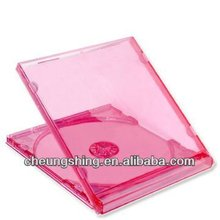 10.4 mm cd jewel case with color tray