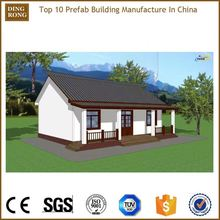 eco tropical ready assemble iron preformed houses