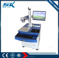 Factory supplier portable mini fiber laser machine , laser marking machine fiber for bamboo , stainless steel
