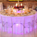 under table light party decoration party decoration