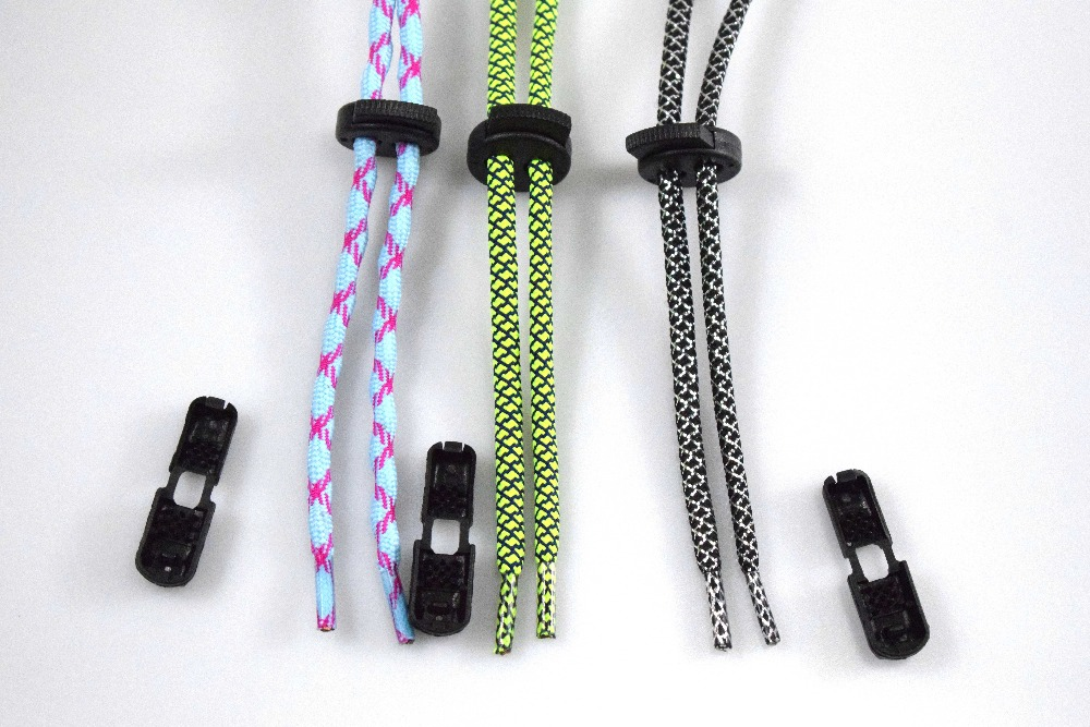 Factory custom non-elastic polyester lock shoe laces