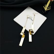 Cool Punk Style Young Girls Jewelry Exaggerated Long Party Earring