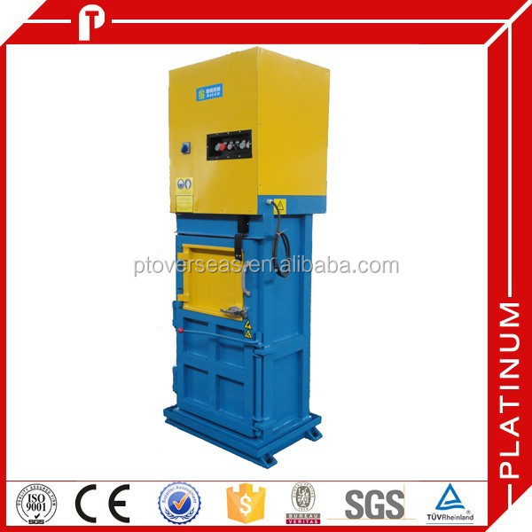 Small garbage baler press