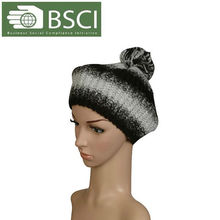 2013 fashion winter knitted hat cashmere knitted hat
