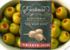 SPANISH RED PEPPER STUFFED OLIVES, GOURMET QUALITY