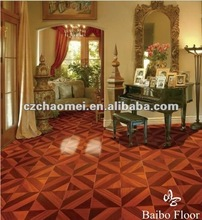 12mm 2012 Hot Purchase Artistic Parquet Floor
