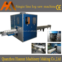 High quality toilet paper kitchen towel log saw cutter machine