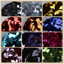 fine wholesale glitter powder face glitter sequins rhombus nail decoration B0918