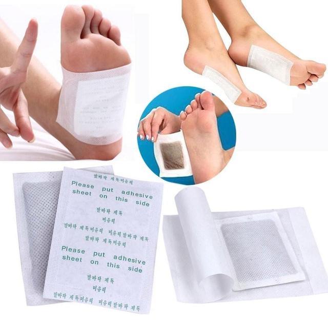 Hot Magnet Slimming Korea Health Broadcast Detox Foot Patch