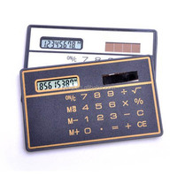 small basic calculator ultra thin card calculator, mini pocket size calculator