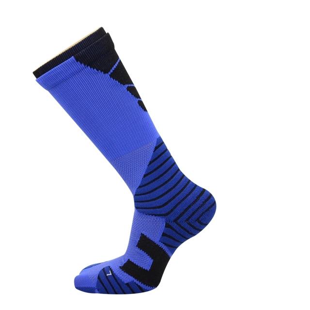 Hot sale high quality half terry men elite basketball socks
