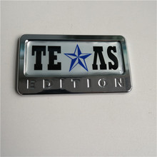 Texas Edition 3D Emblem Decal Fender Badge Car Truck logo
