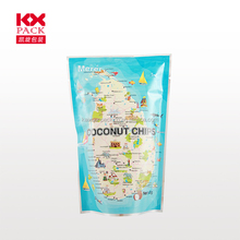 Food Grade Coconut Chips Waterproof Plastic Bag For Snack Packing