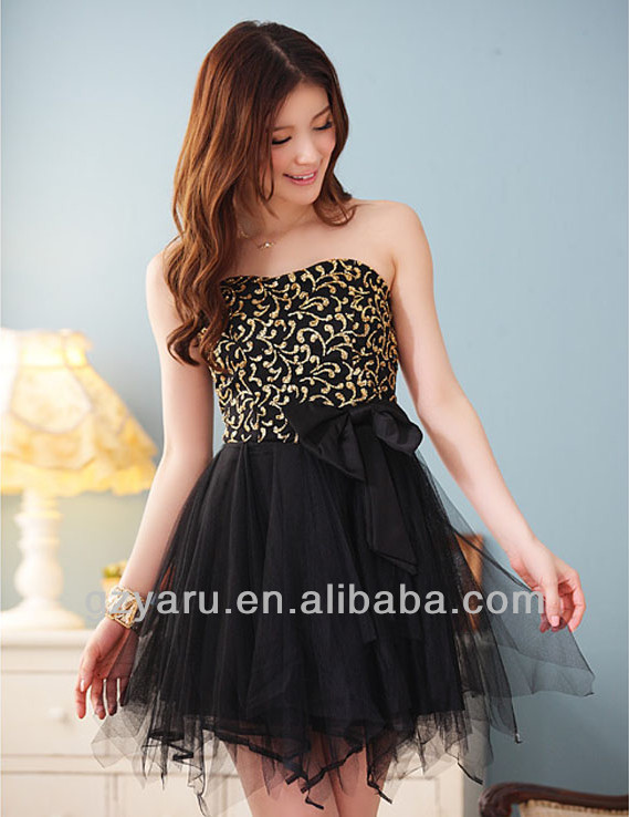 2013 2014 fashion christmas party dress ladies