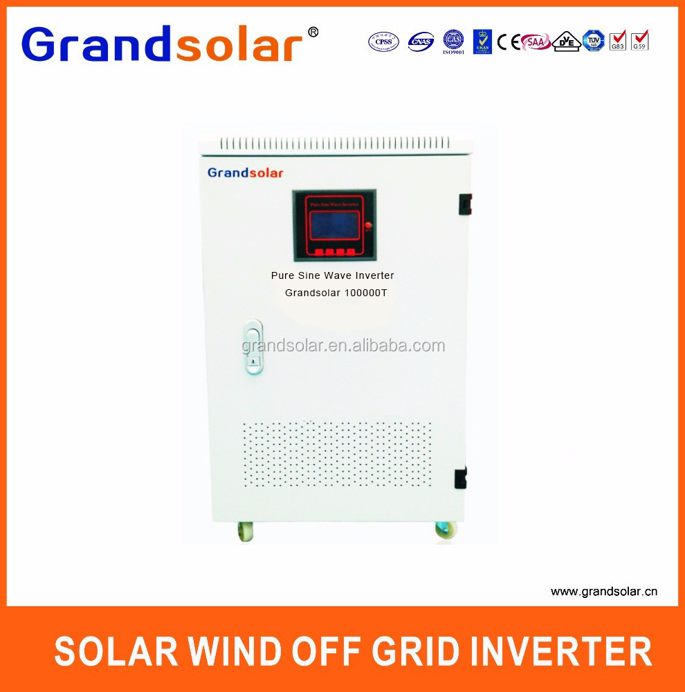 100000W 100KW <strong>DC</strong> TO AC 220 230 240 380 V PURE SINE WAVE 3 PHASES OFF GRID SOLAR POWER INVERTER