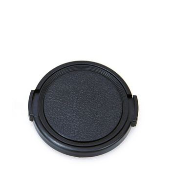 universal 58mm snap-on side camera lens cap,cheap price lens cap no logo