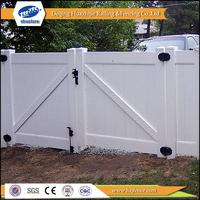 vinyl garden white plastic gates and fence design