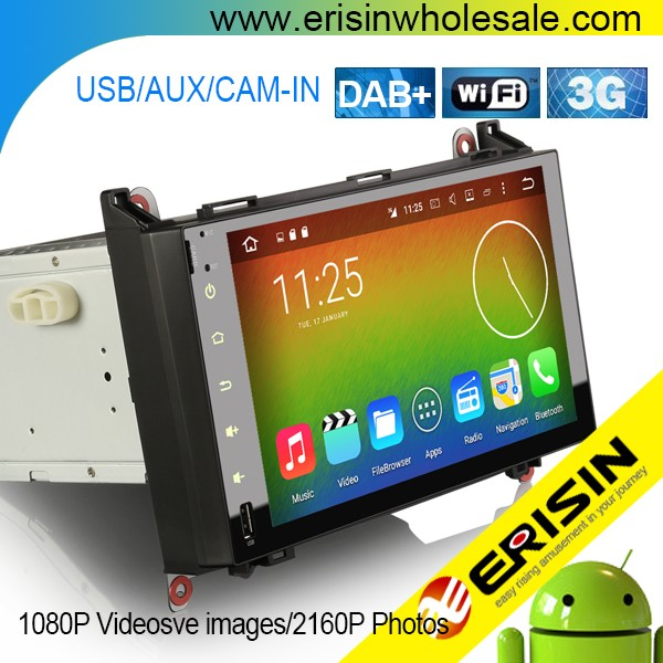 "Erisin ES6982B 9"" Mercedes W245 DAB+ Car Radio 3G Bluetooth RDS GPS"