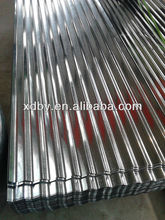galvanized corrugated plate /zn coating corrugated steel metal