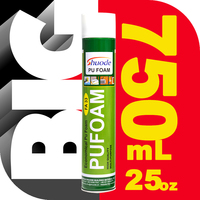 economical Cheap door and window large expansion super quality pu construction foam sealant