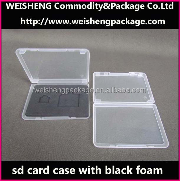 Low price plastic sd notepaper packing/houseware Packing case