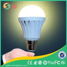 Rechargeable Home 7w Emergency Lighting LED bulbs 9w led emergency charging light with B22 E27 base