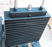 weight stack plate/ lifting plate with selector rod /steel bushing