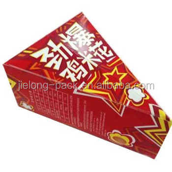 chicken popcorn paper box with customized logo