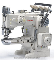 SunSir SS-C1500-44H Feed-on Type Cylinder Bed Interlock industrial sewing machine