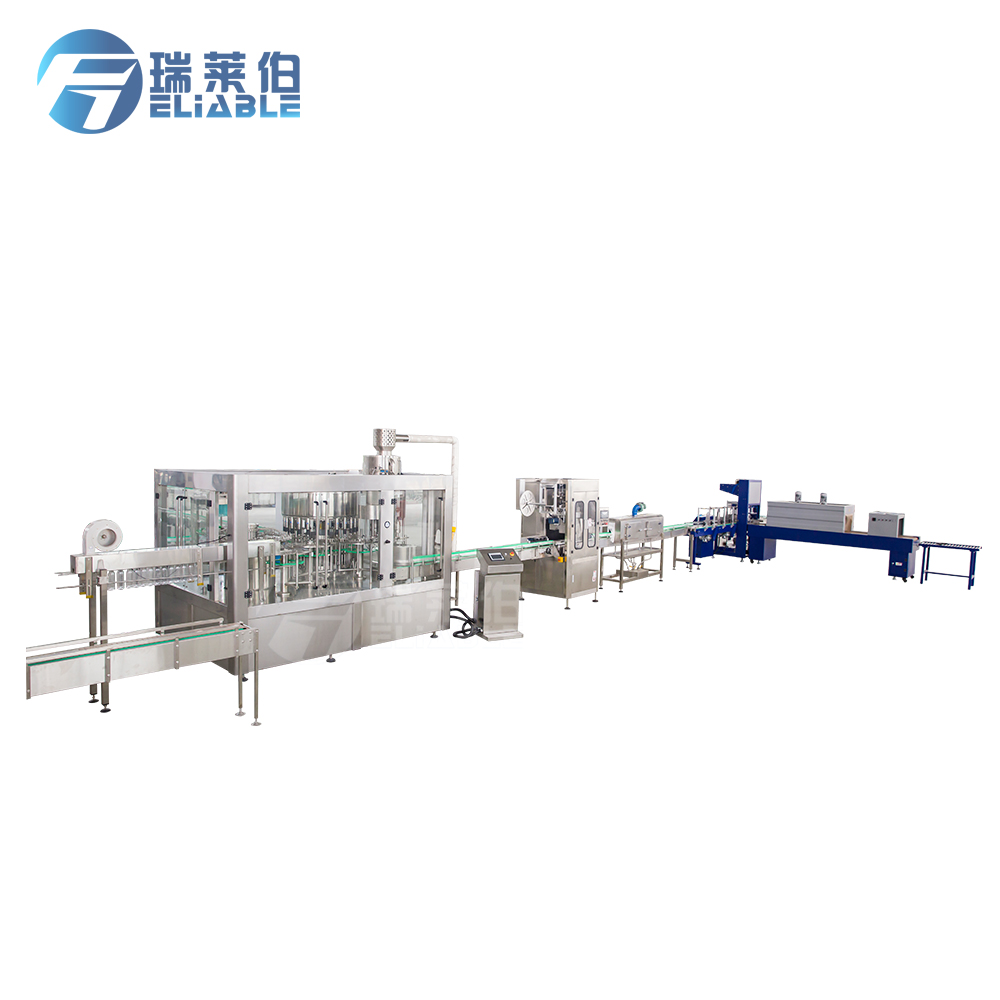 fully automatic pet bottle mineral water plant cost