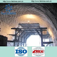 spray-application waterproof membrane for tunnel and underground projects