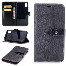 Alibaba good quality pu wallet leather case with stand function for iPhone 8