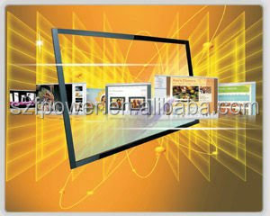 50 inch easy install 6 touches IR touch screen,driver free USB interface