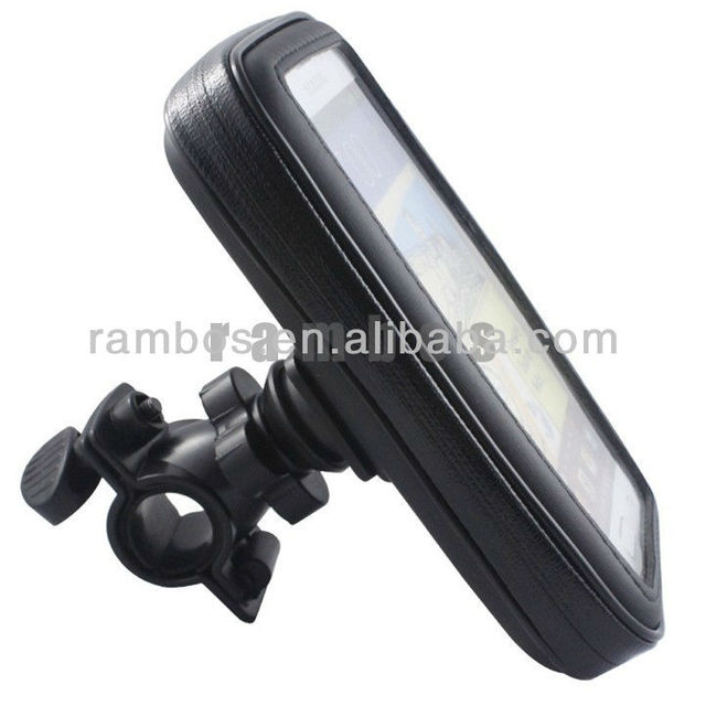 Bike Mount Holder +Water Resistant Case for Samsung Galaxy Note II 2 N7100 i9220
