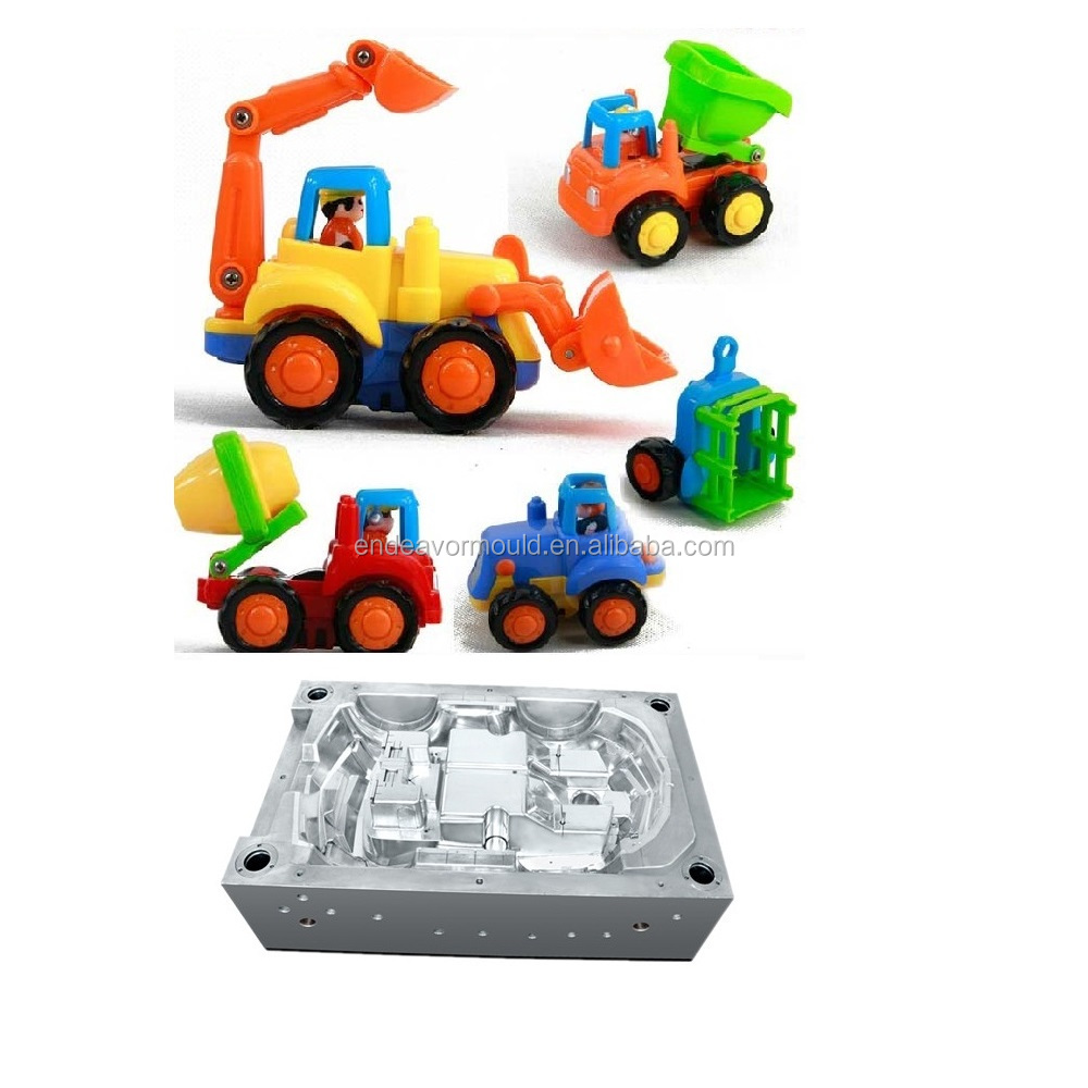 Injection Plastic Children Car Toy Mold