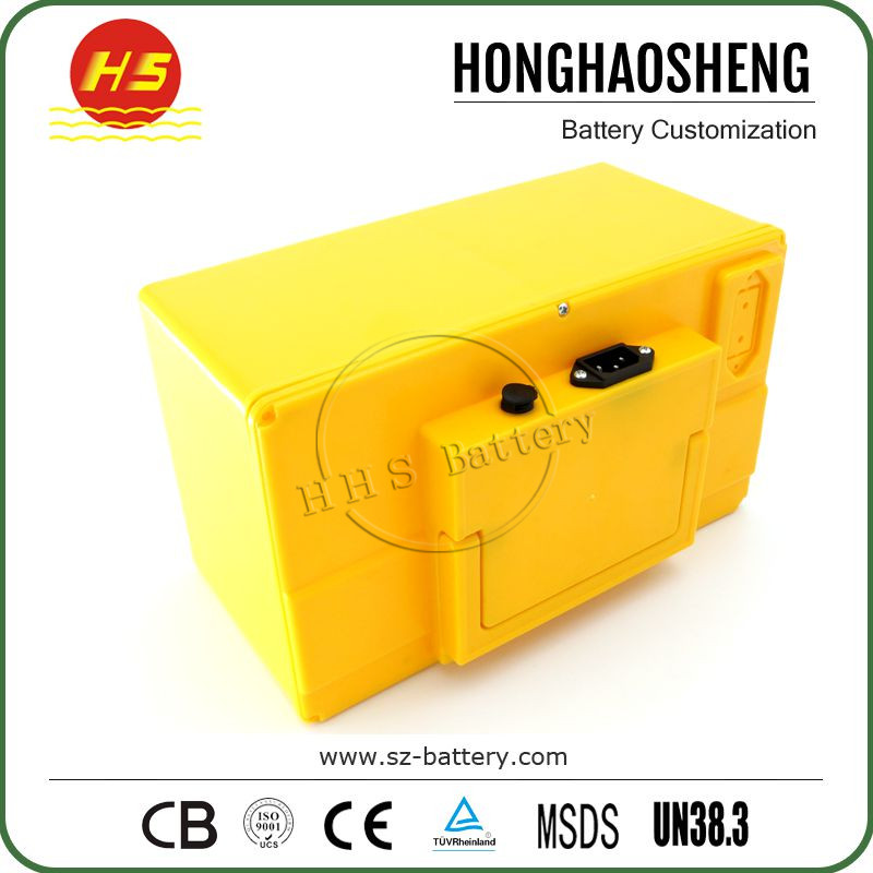High performance rechargeable 32V 36V 60Ah lifepo4 electric bike battery pack wholesale price