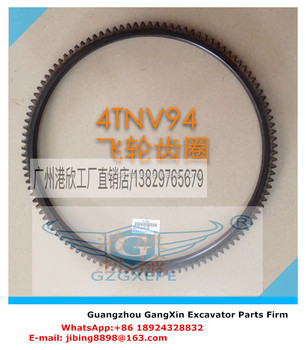 High quality Diesel Engine 4TNV94 Fly Wheel Gear Ring 114T for Excavator with factory price